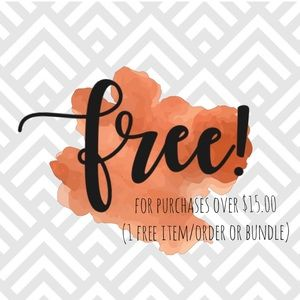 Other - The items in this section below are FREE!